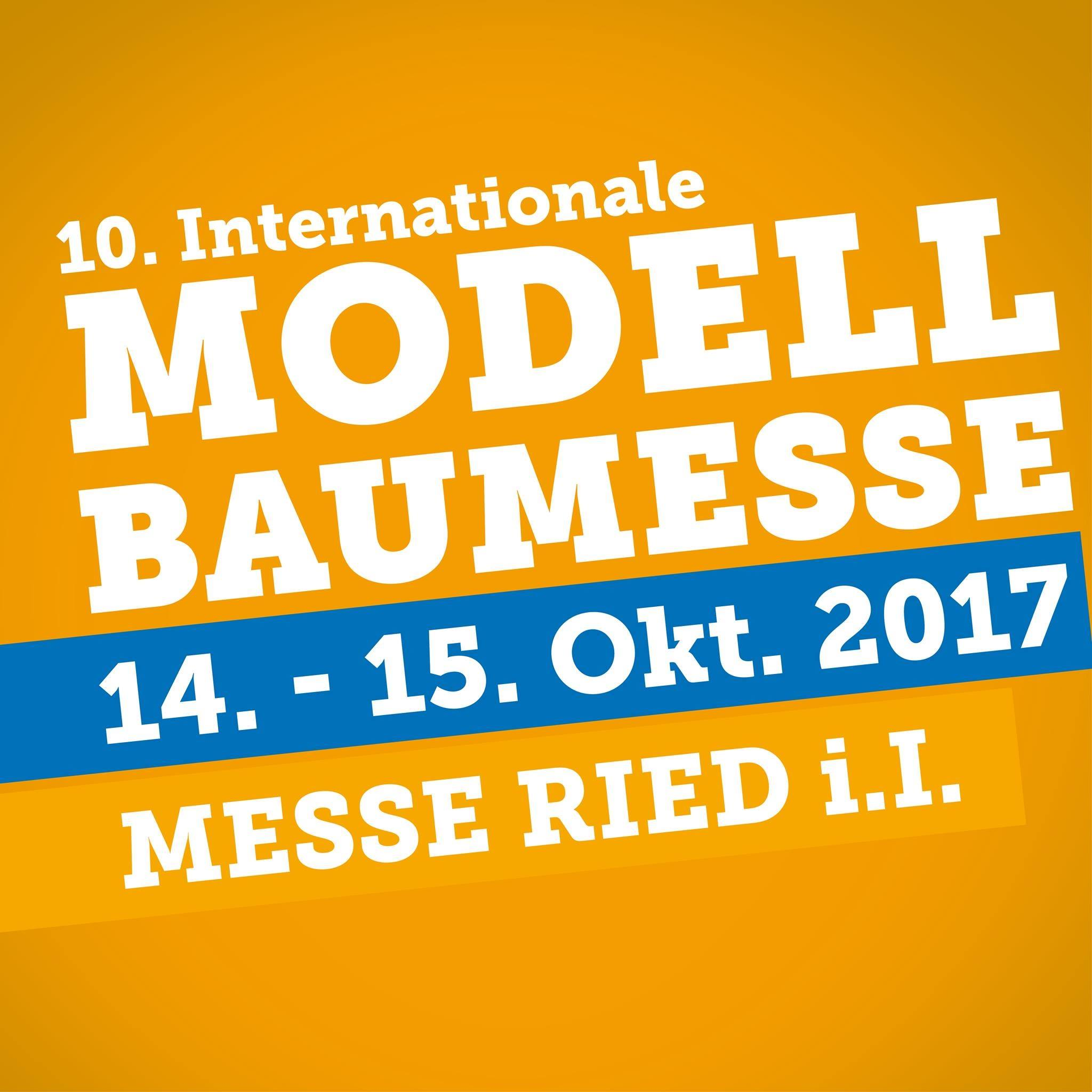 Modellbaumesse Ried 2017