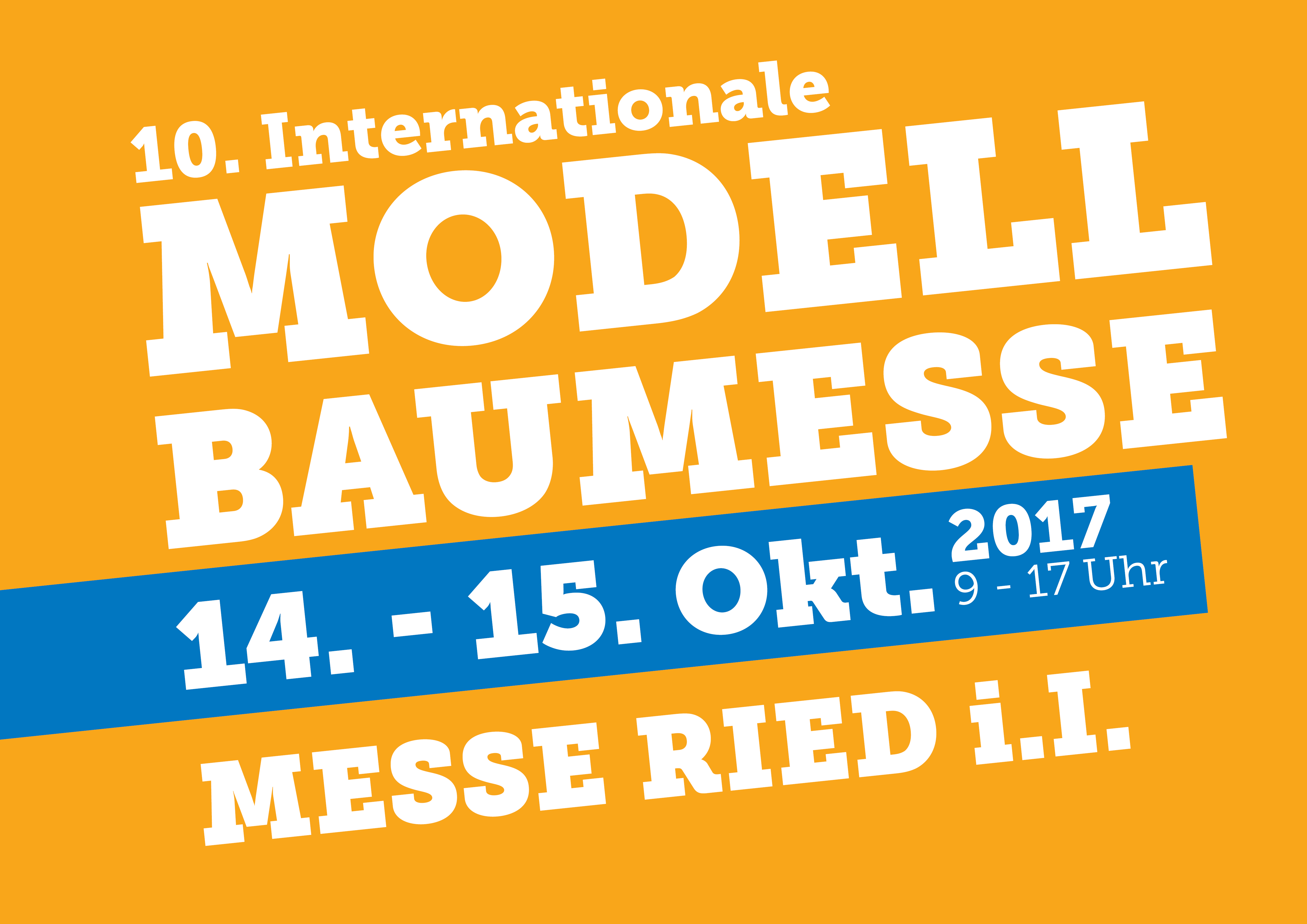 Modellbaumesse Ried 2018
